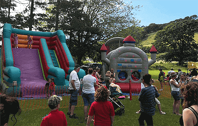 Party equipment hire Lampeter