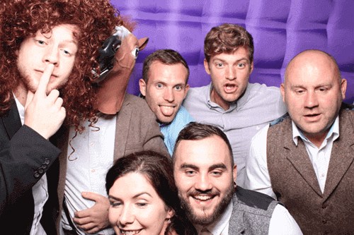 wedding photobooth hire group
